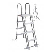 Лестница с площадкой Intex 122 см