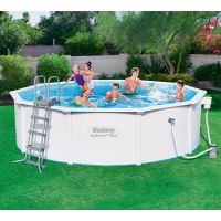 Стальной бассейн Hydrium Pool Set 460х120 см