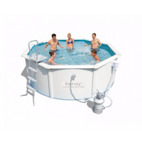 Стальной бассейн Hydrium Pool Set 360х120см