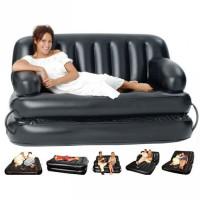 Надувной диван-трансформер Double 5-In-1 (насос в комплекте)