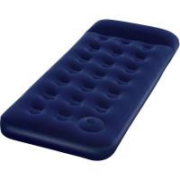 Надувной матрас Easy Inflate Flocked Air Bed(Single) 185х76х28 см, встроенный ножной насос