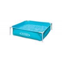 Каркасный бассейн Mini Frame 122х122х30см, 342л, от 2 лет